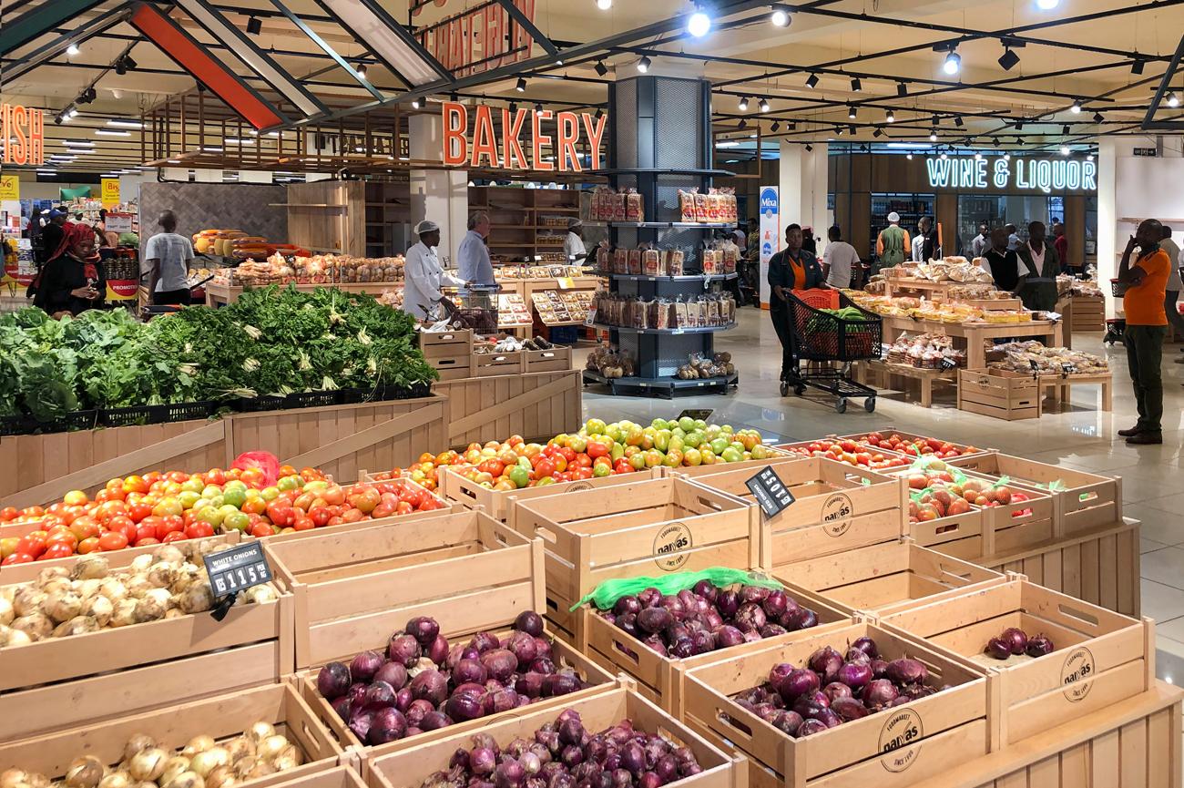 image of Naivas supermarket
