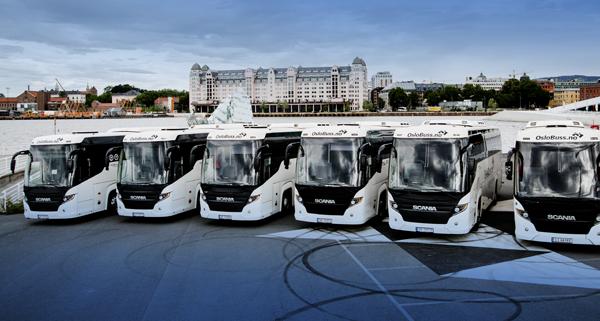 Leie av buss med sjåfør til større arrangement