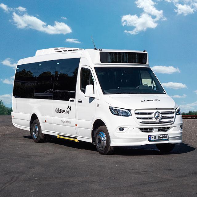 Leie minibuss