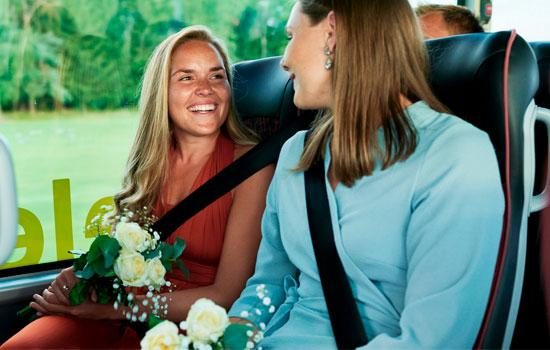 Bussleie til Bryllup
