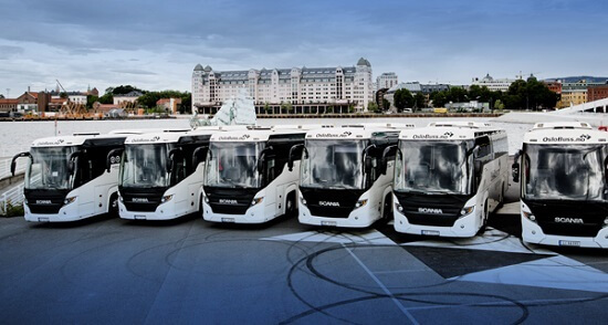 Hire of bus with driver for larger event