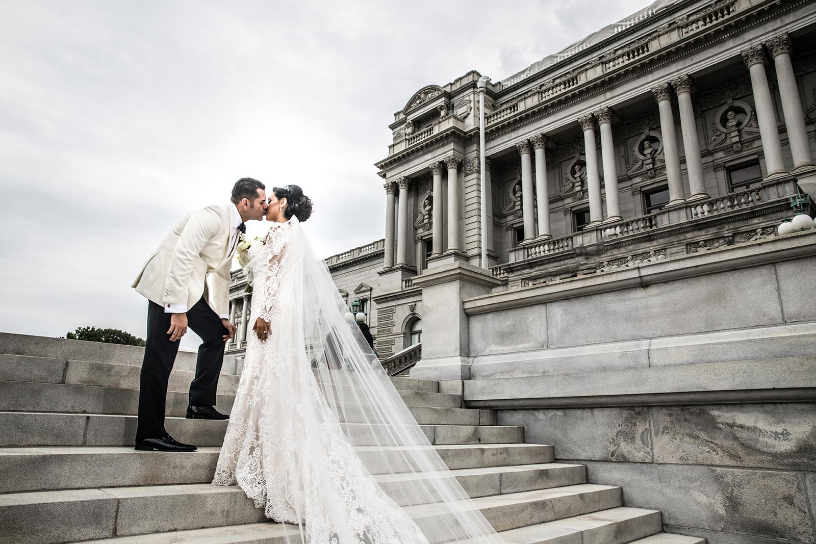 Wedding Photography at the library of congress - Washington DC