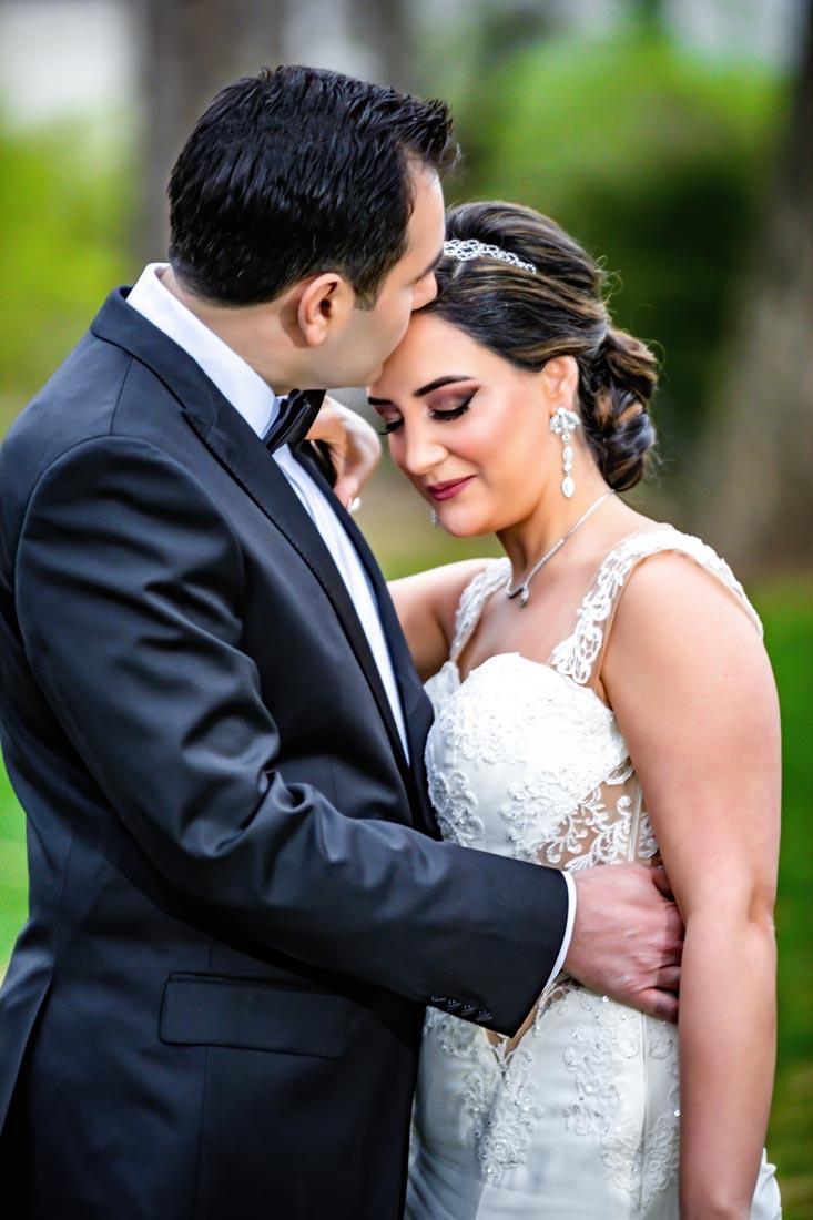 Rock Creek Mansion Bethesda MD - Wedding Portrait