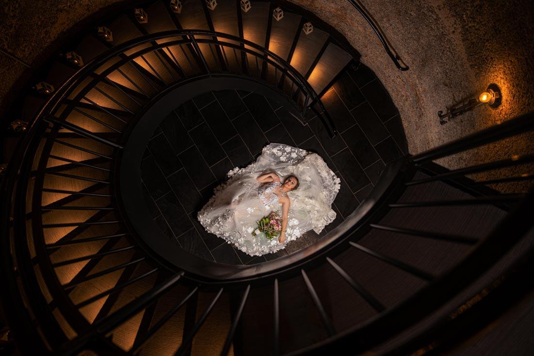Sweeney Barn, Manassas, VA - Wedding Portrait