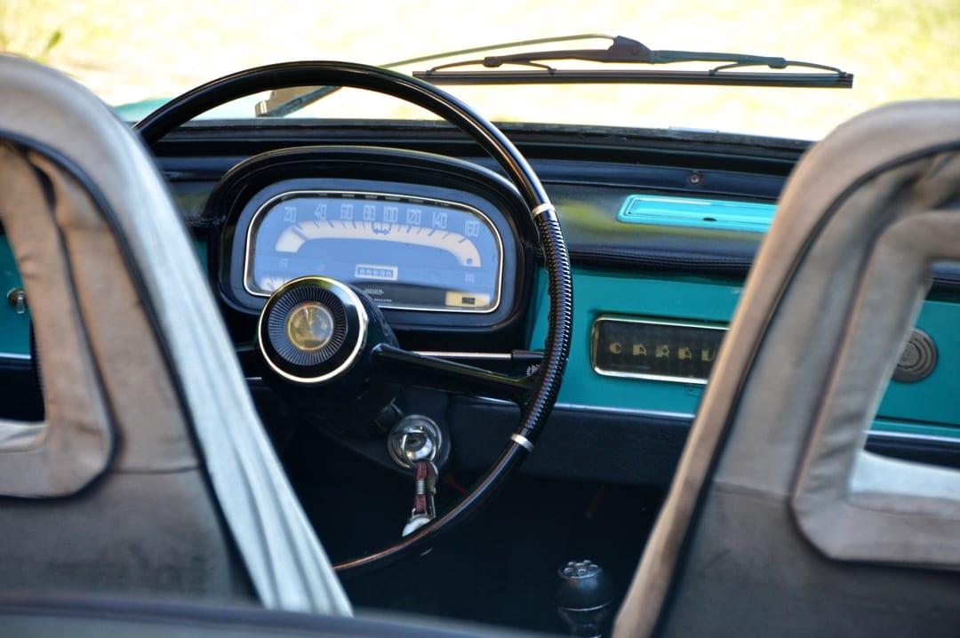 Old vintage style car