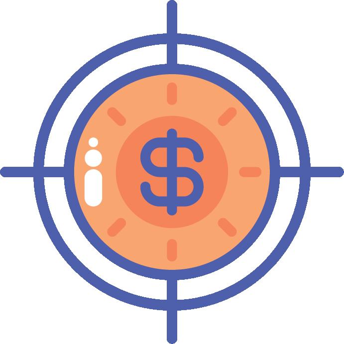 Paid Advertising Icon - www.everbluedigital.com