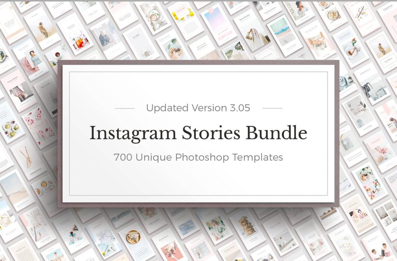 Instagram stories bundle