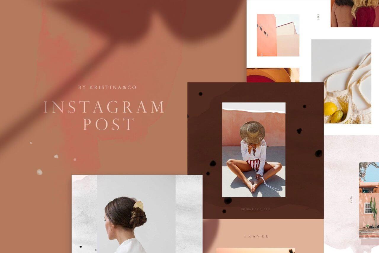 Modern Instagram mockups