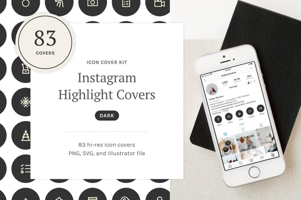 Instagram highlight covers