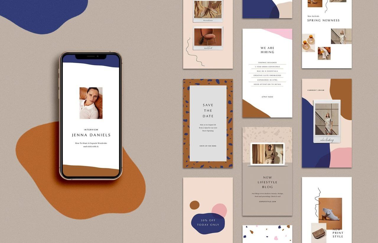 Stylish Instagram mockups