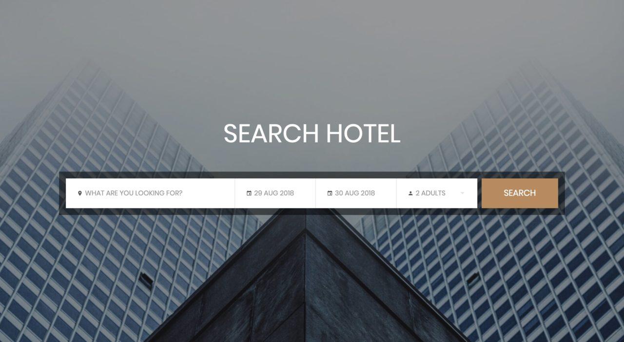 Colorlib Bootstrap Search Bar