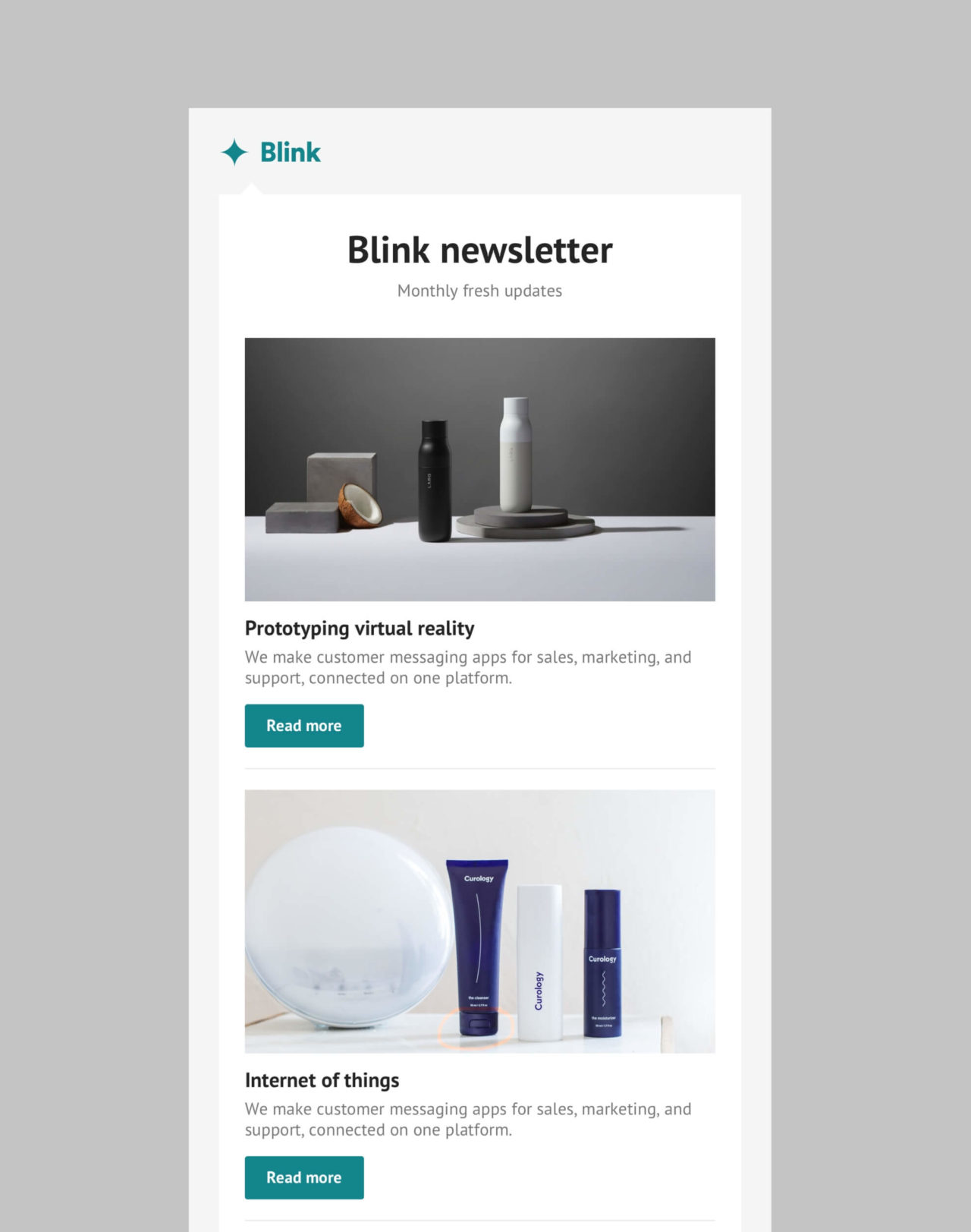 Blink: Simple Newsletter