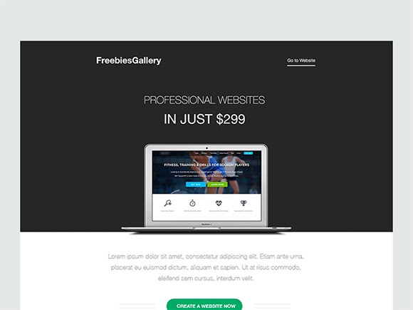 Email Template PSD