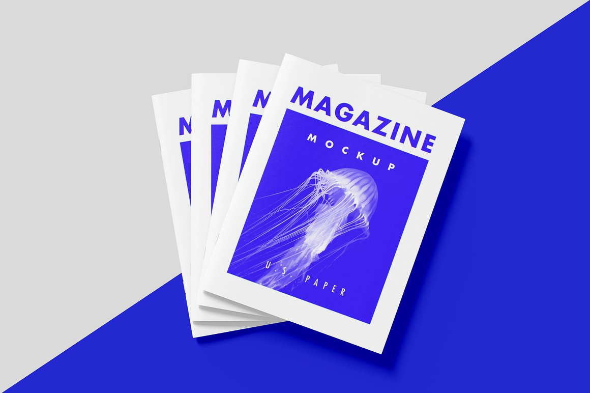 US Magazine Mockup