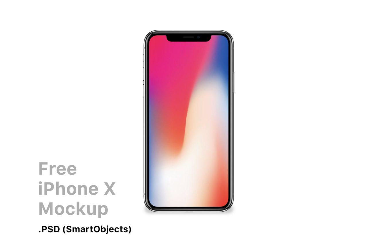 Editable iPhone X Mockup