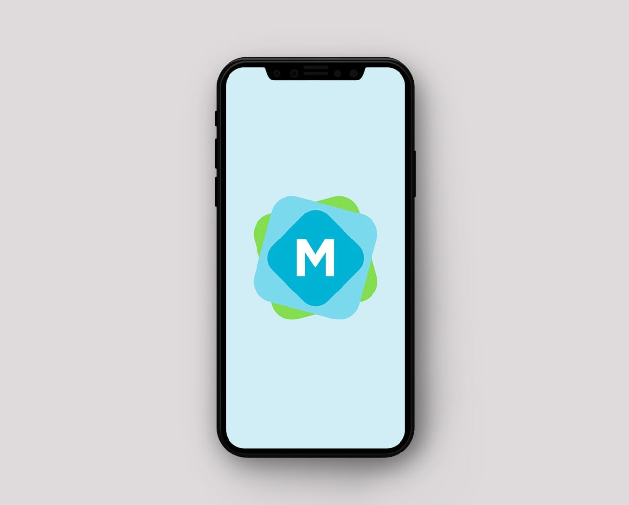 Simple iPhone X Mockup PSD