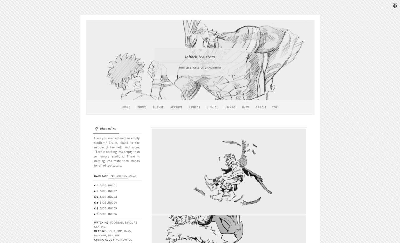 fireheart tumblr theme
