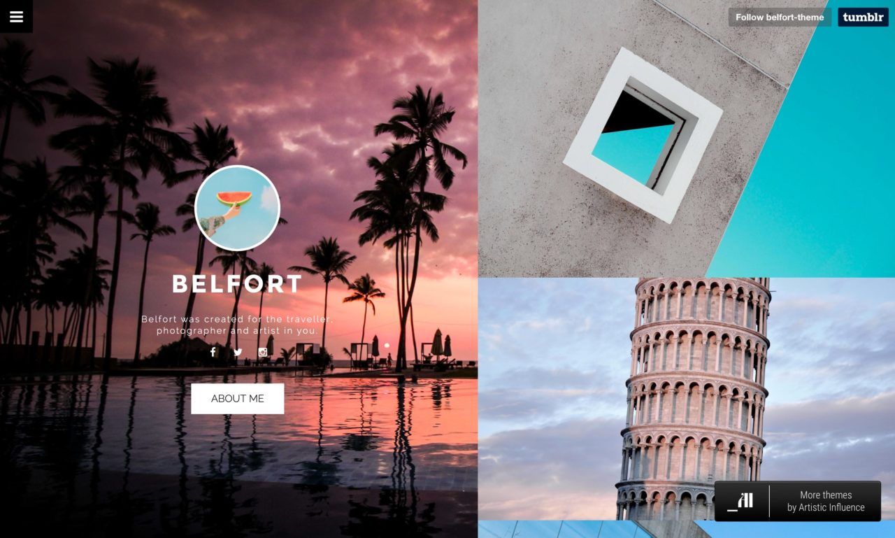 belfort tumblr theme