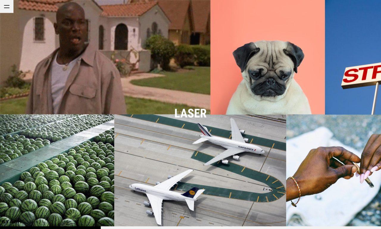 laser tumblr theme