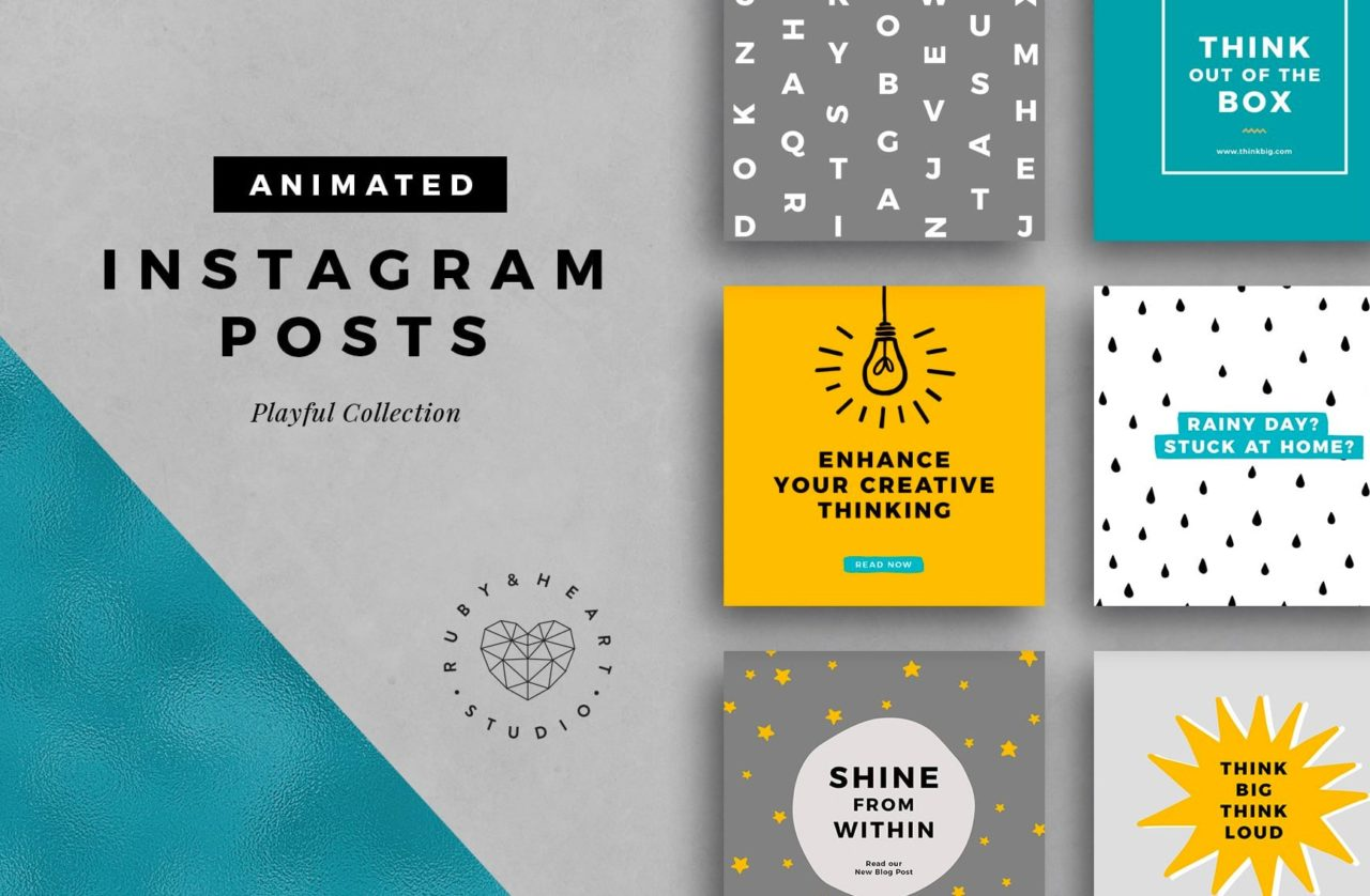 animated playful template