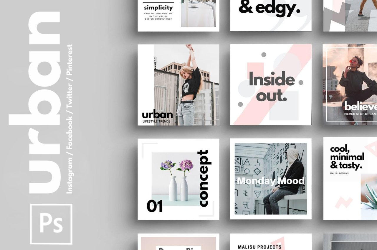 psd urban template