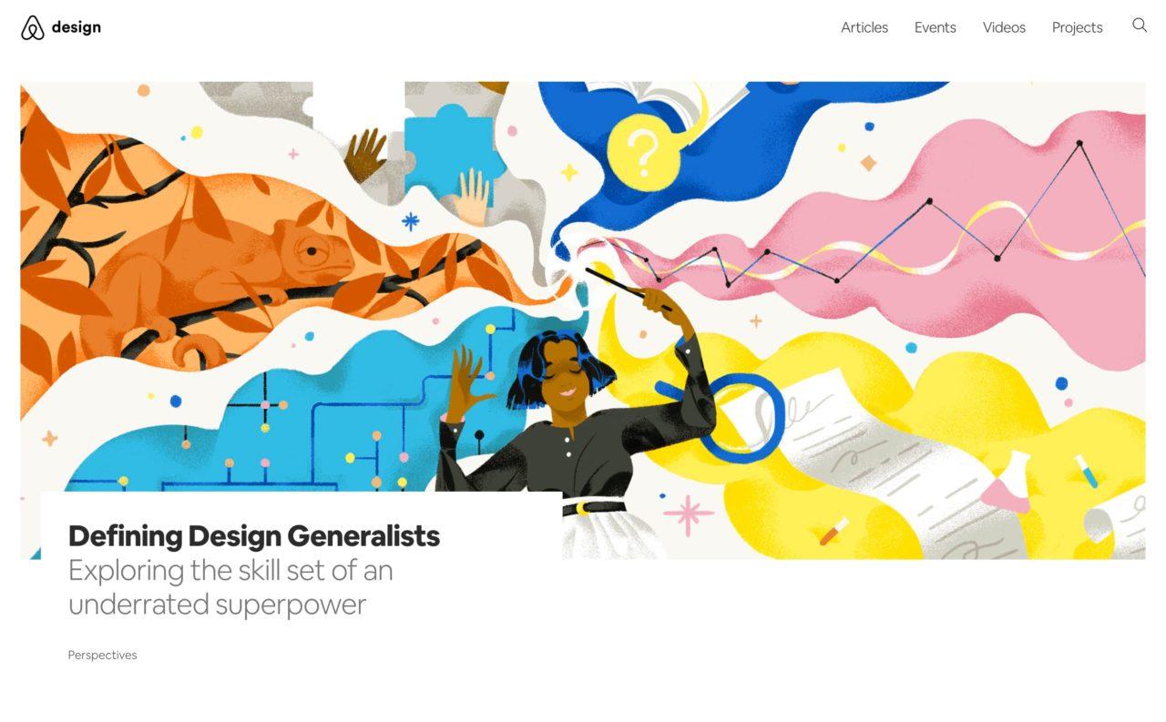 airbnb blog design