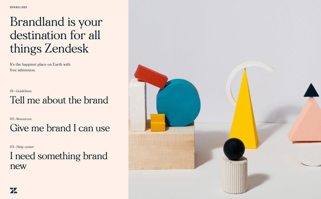 brandland blog design