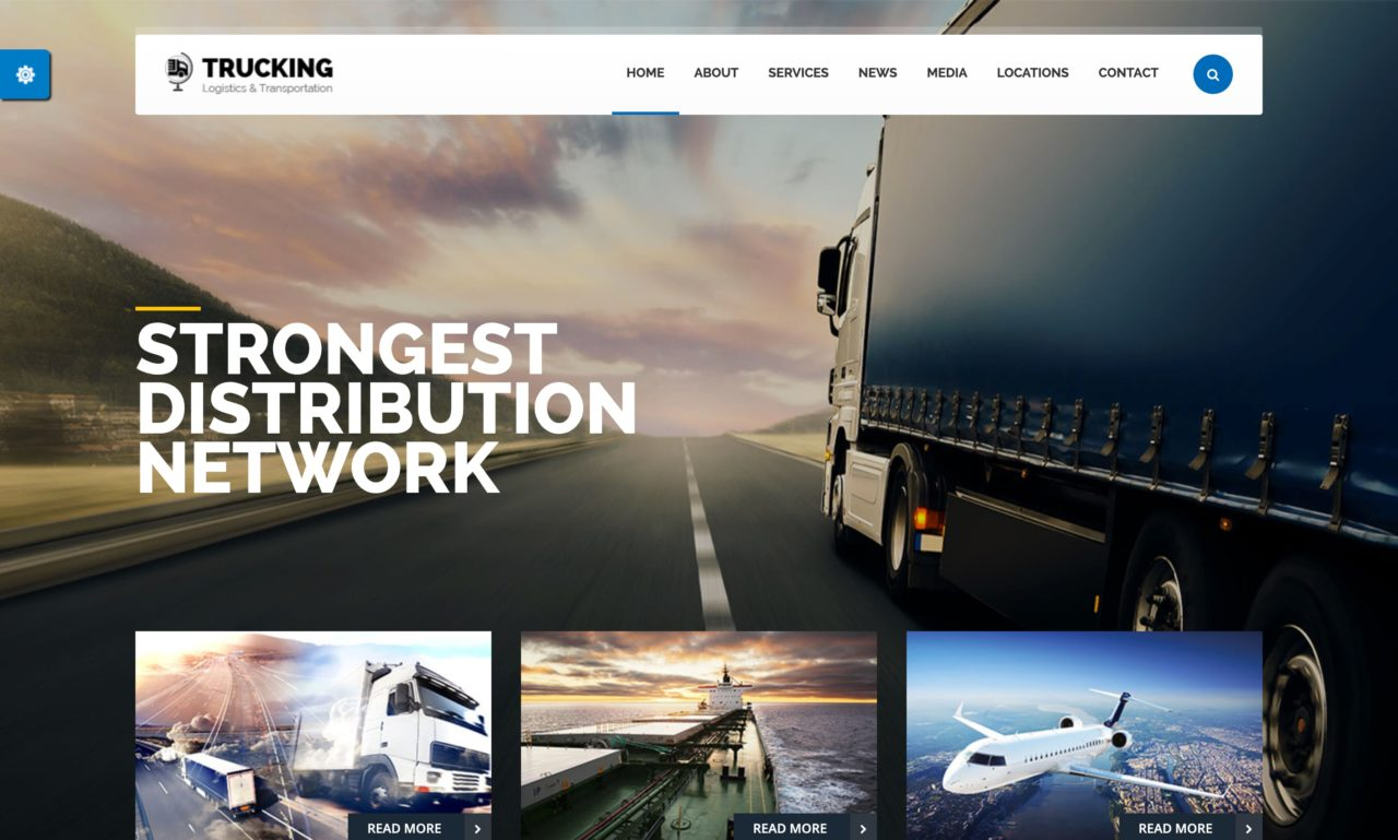 trucking mockup template