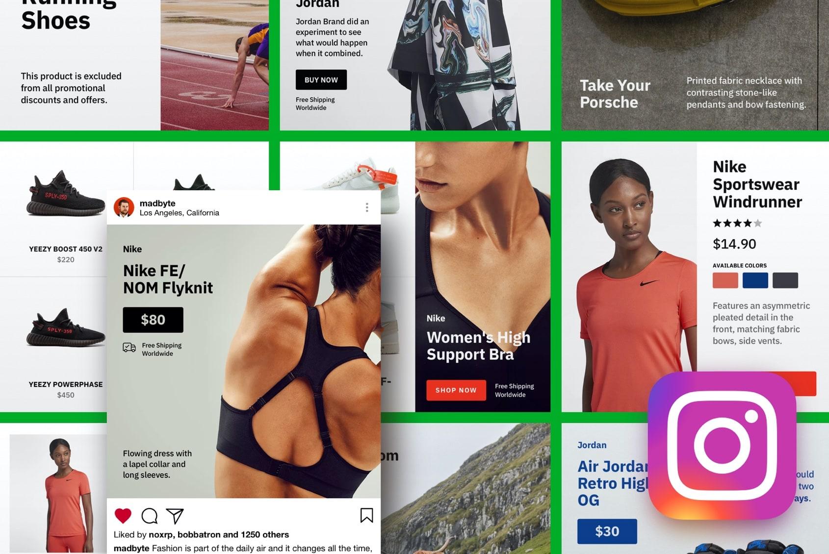 Instagram Templates for E-commerce