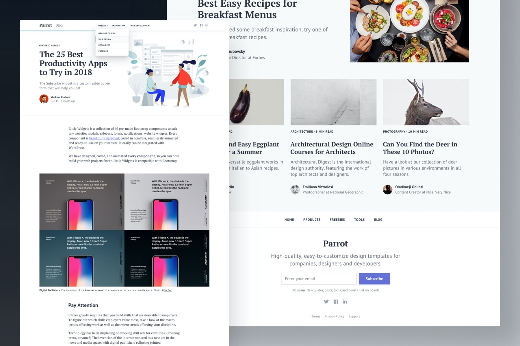 Blog Template for Bootstrap