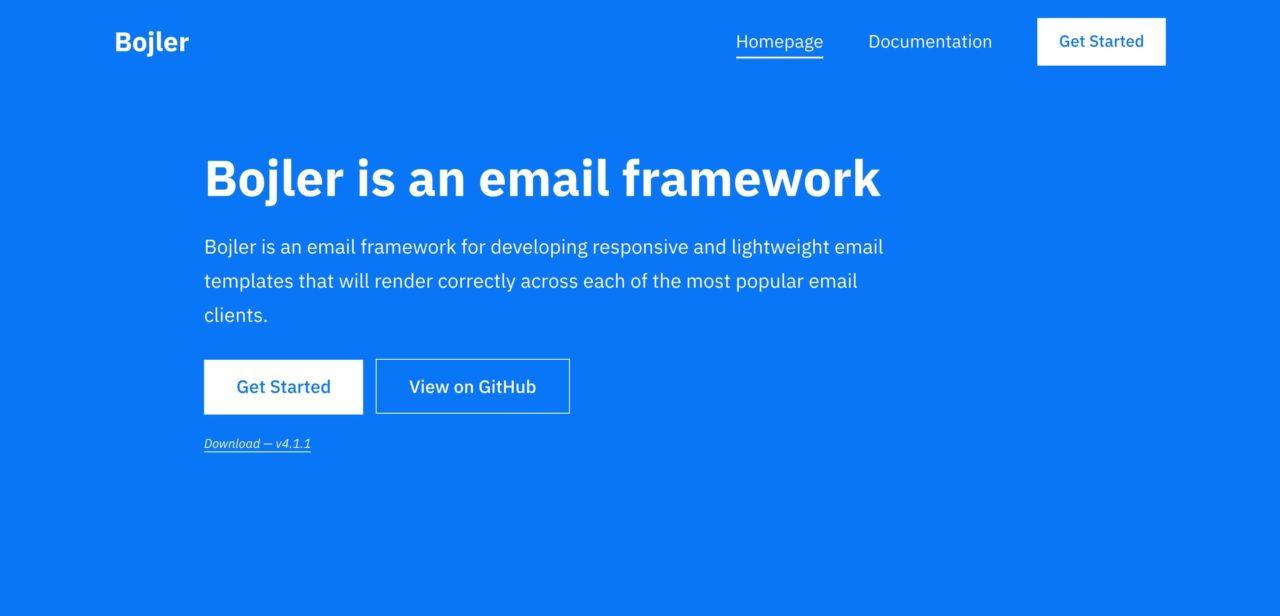 bojler email template
