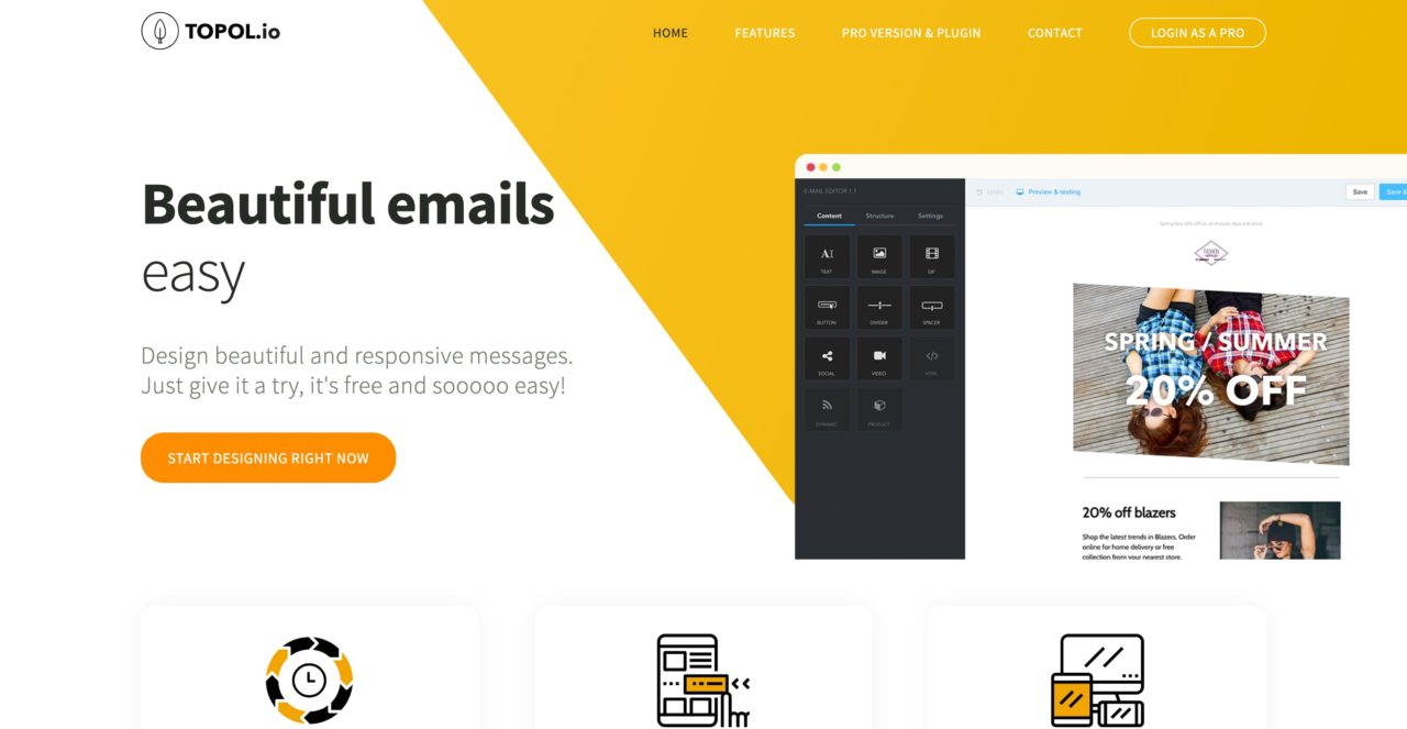 topol email template
