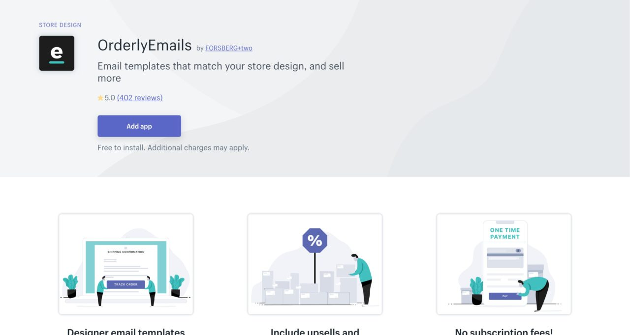 orderly email template