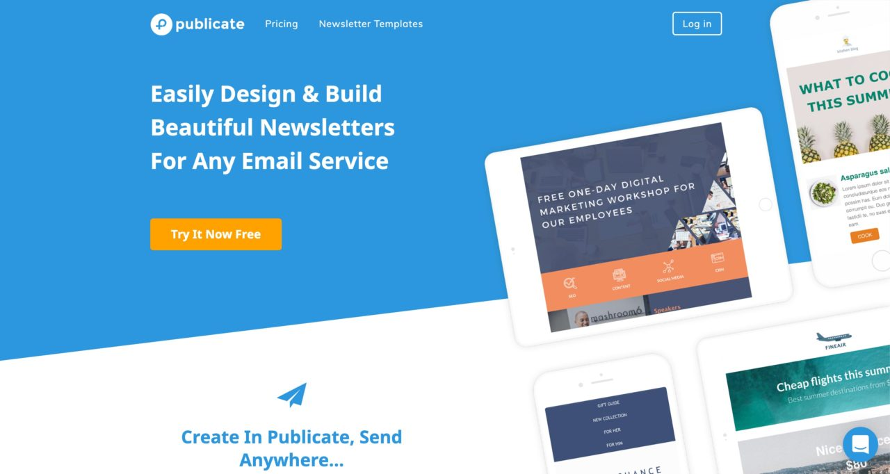 publicate email template