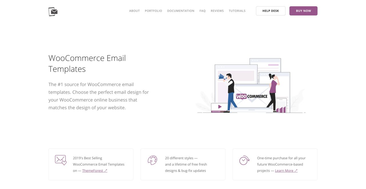 woocommerce email template