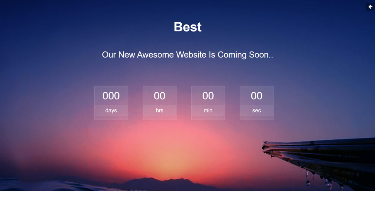 best bootstrap template