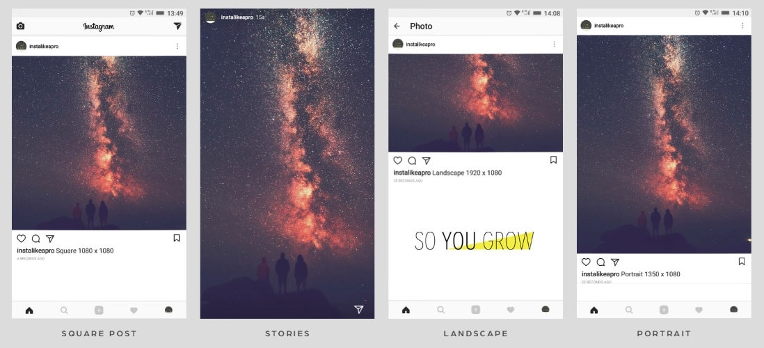 optimizing instagram photo size