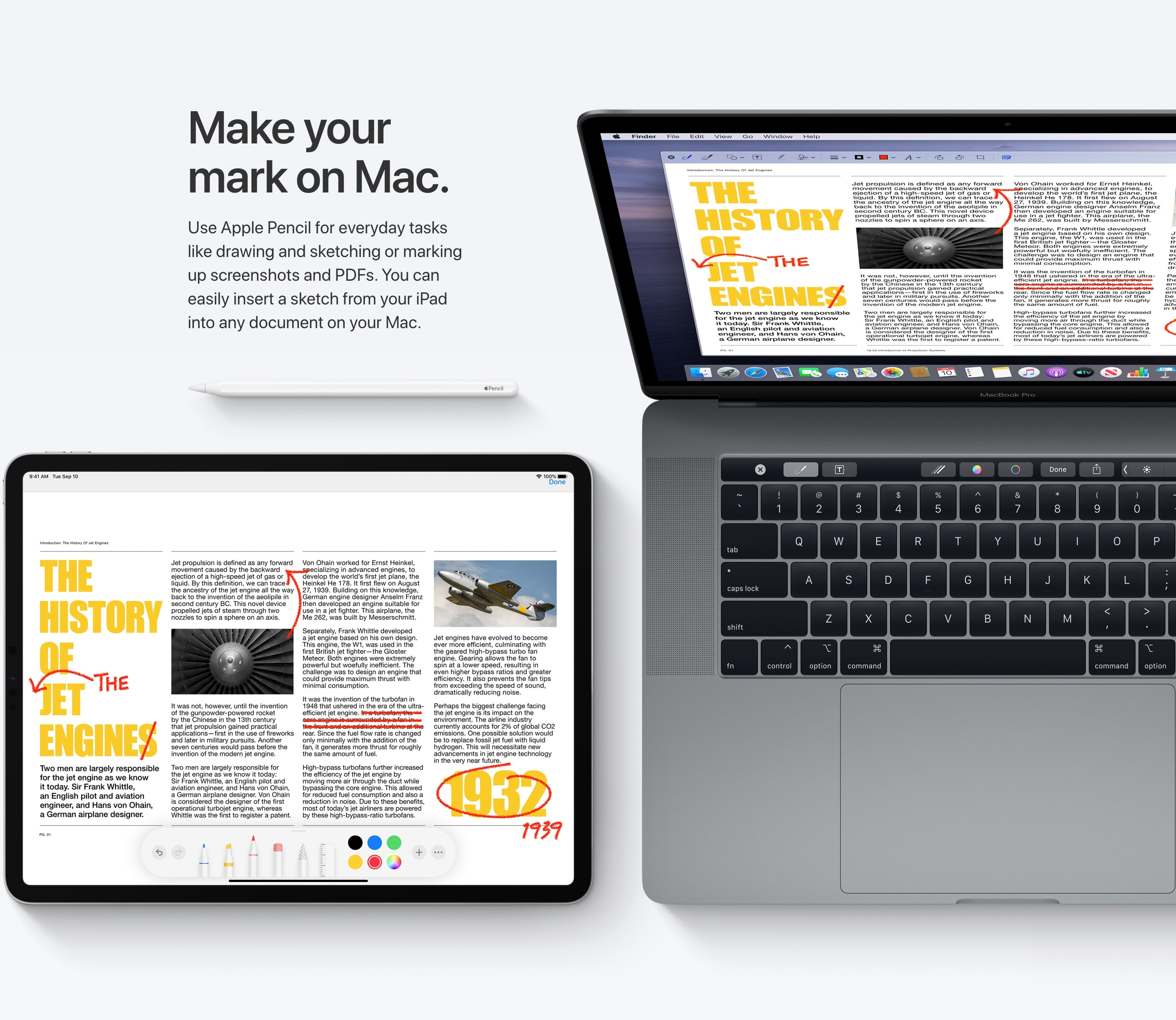 E-commerce Product Feature with MacBook & Tablet Images