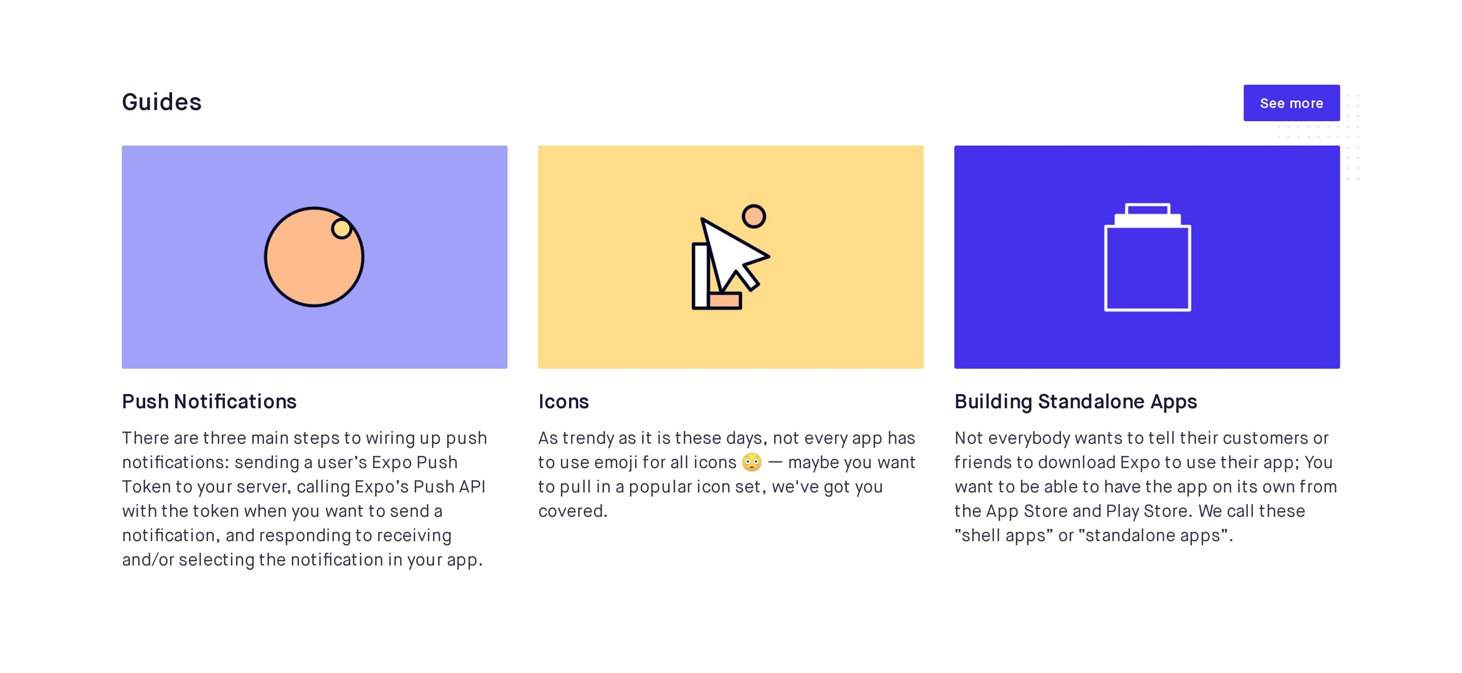 Product Guides Grid
