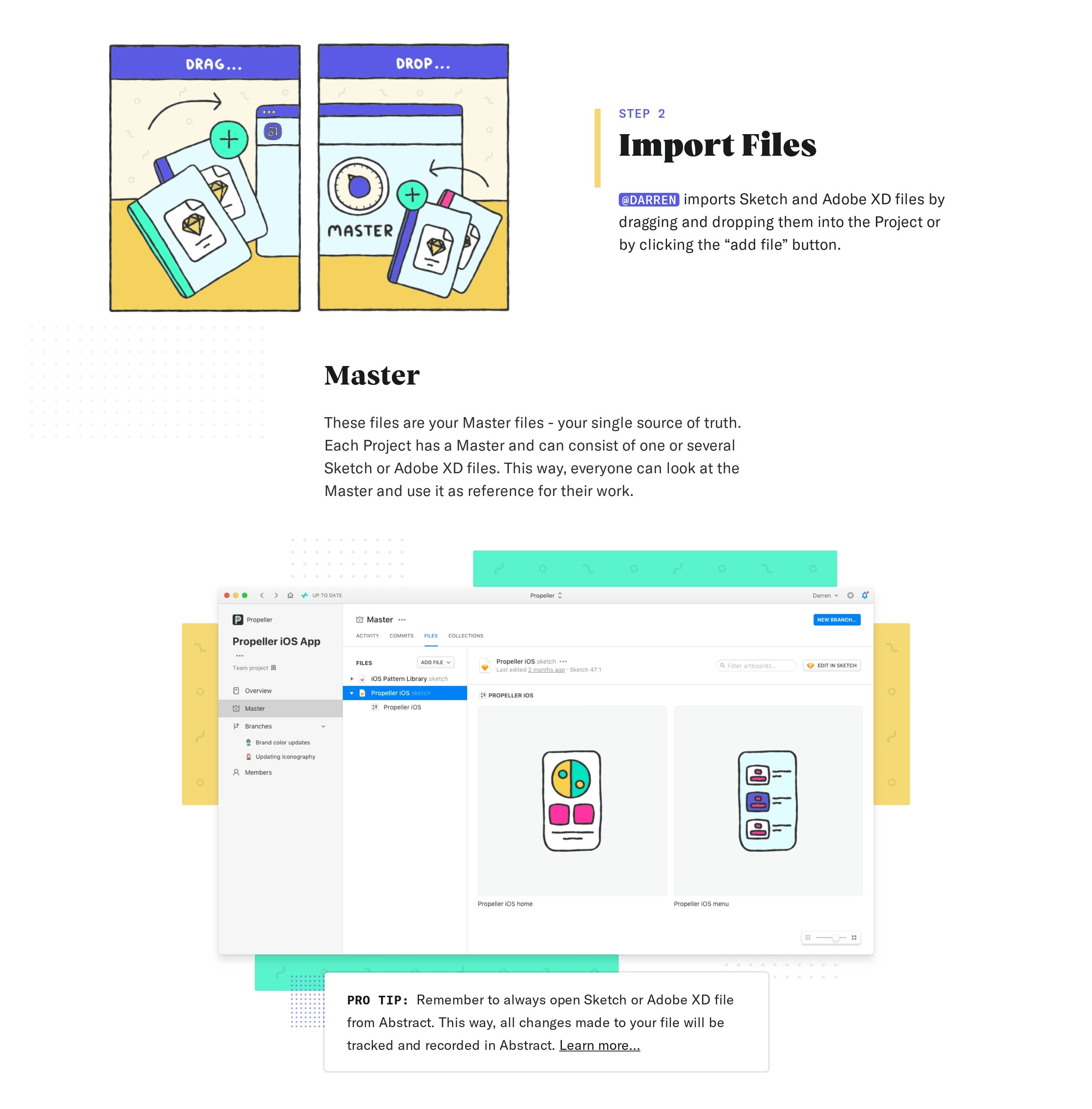 Product Using Page with Features
