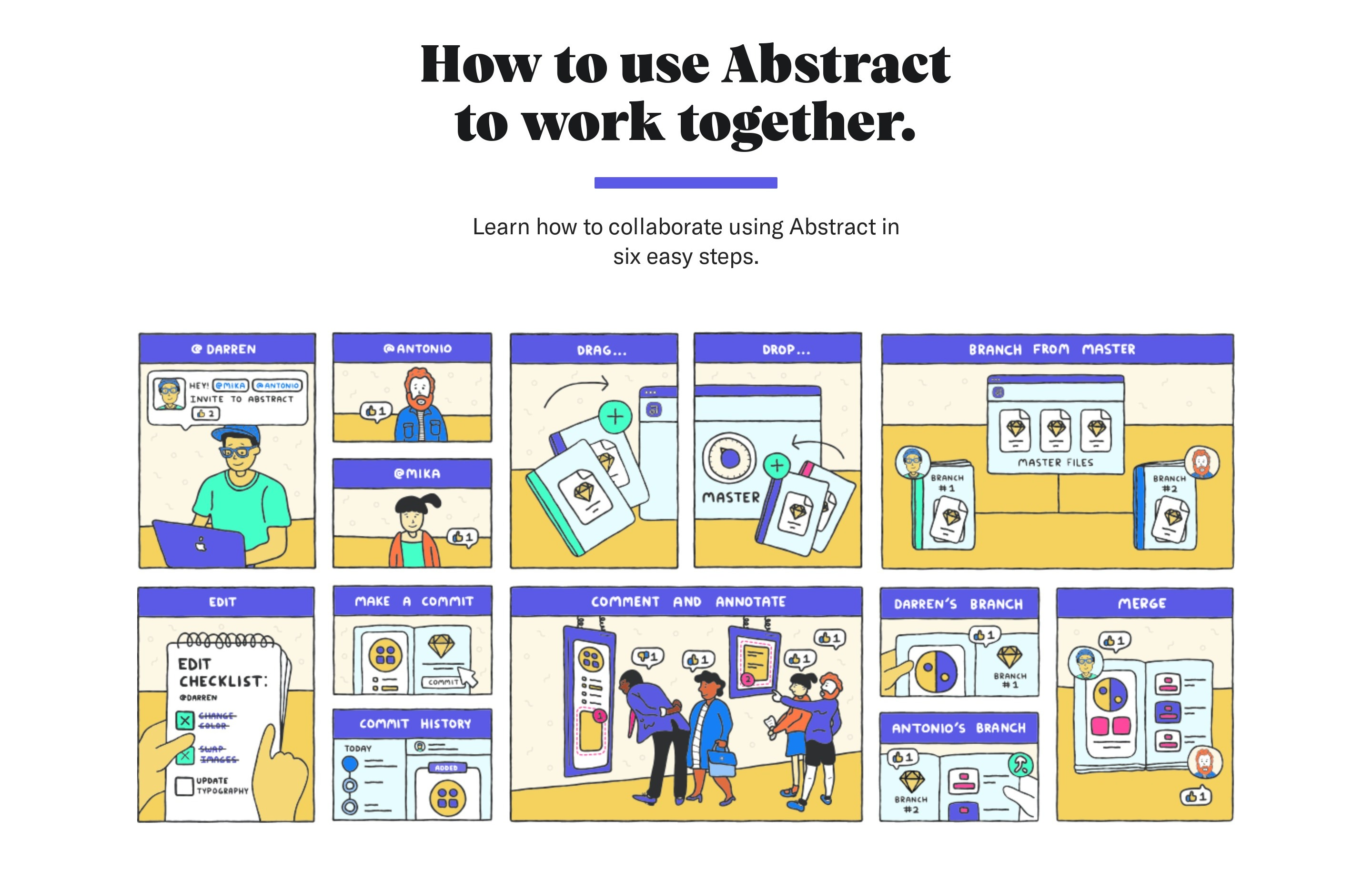 How to Use Product Section with Illustration Guide