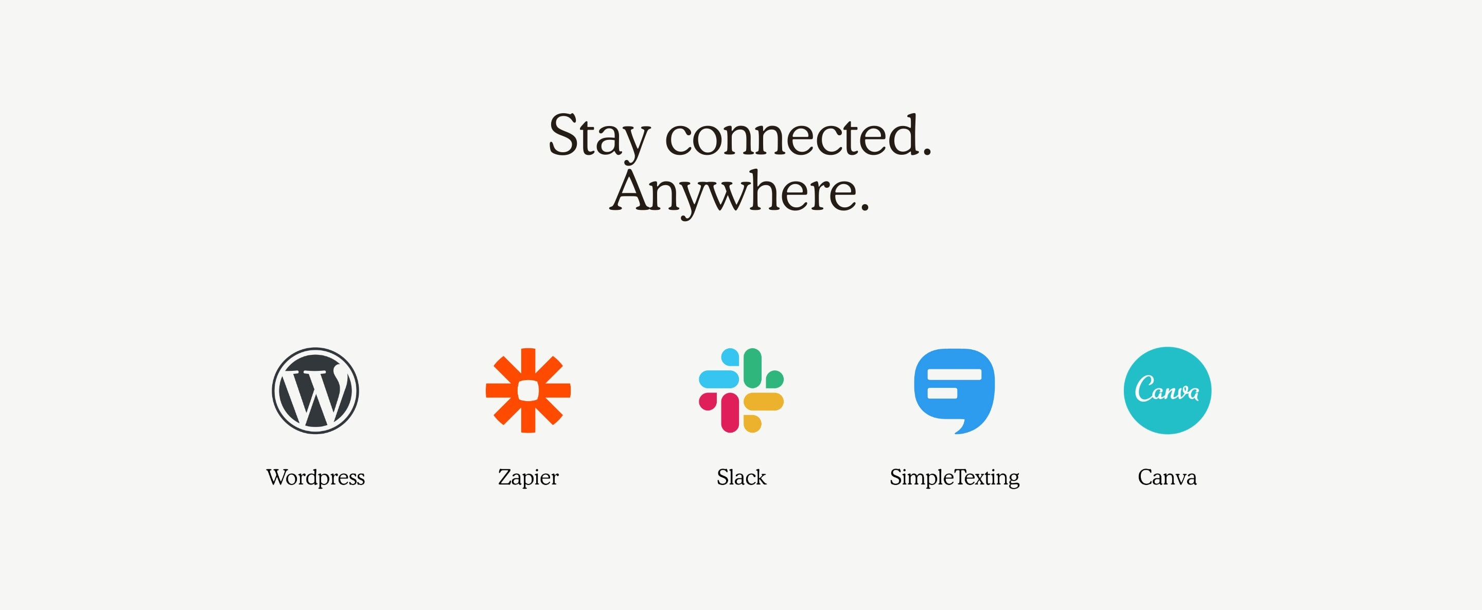 Apps Integrations Icons