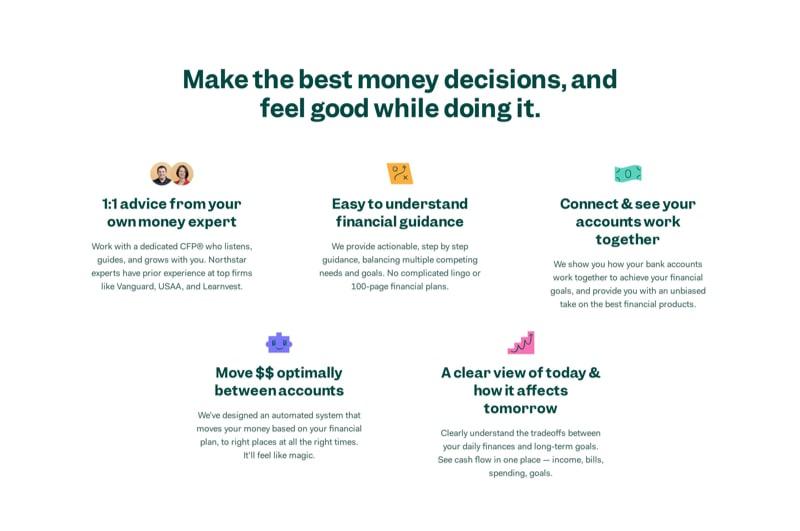 Benefits List in 3-Column Grid