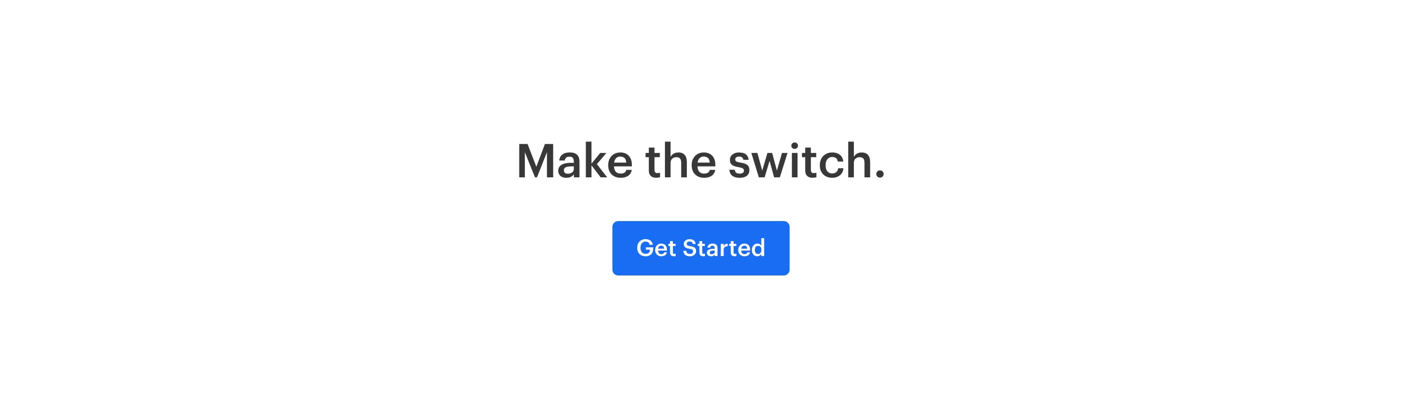 Minimal CTA Block with Tagline and Button