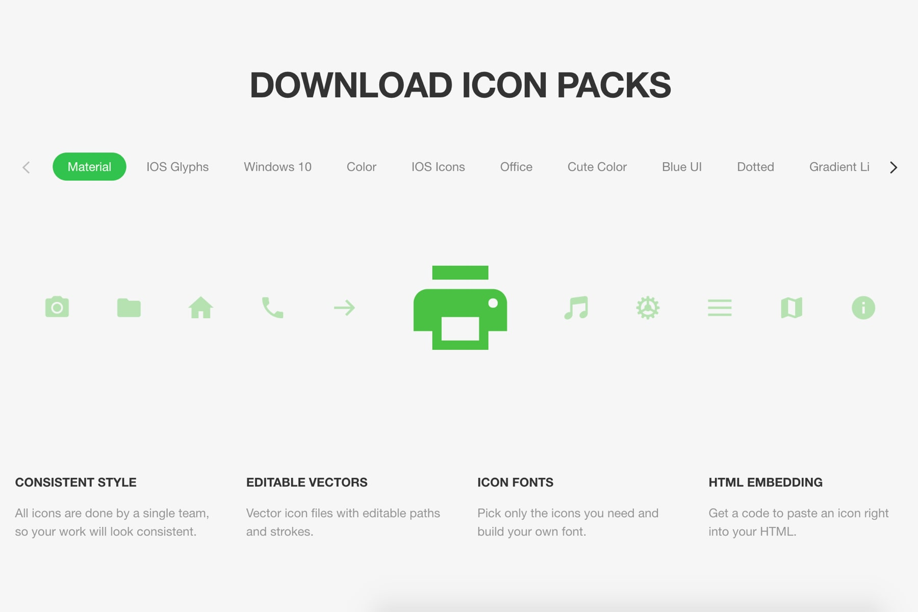 120K+ icons in different styles