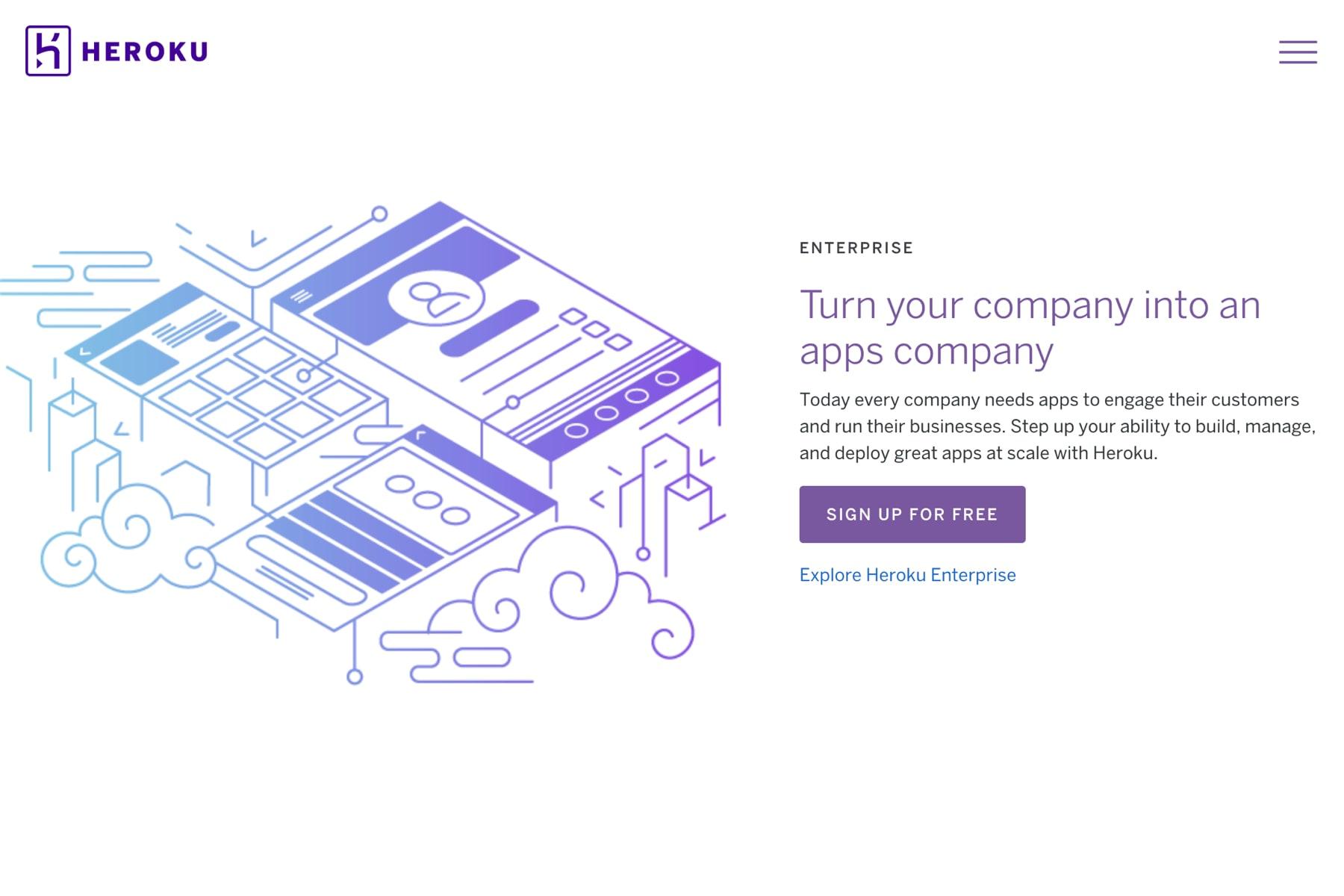 Cloud application platform
