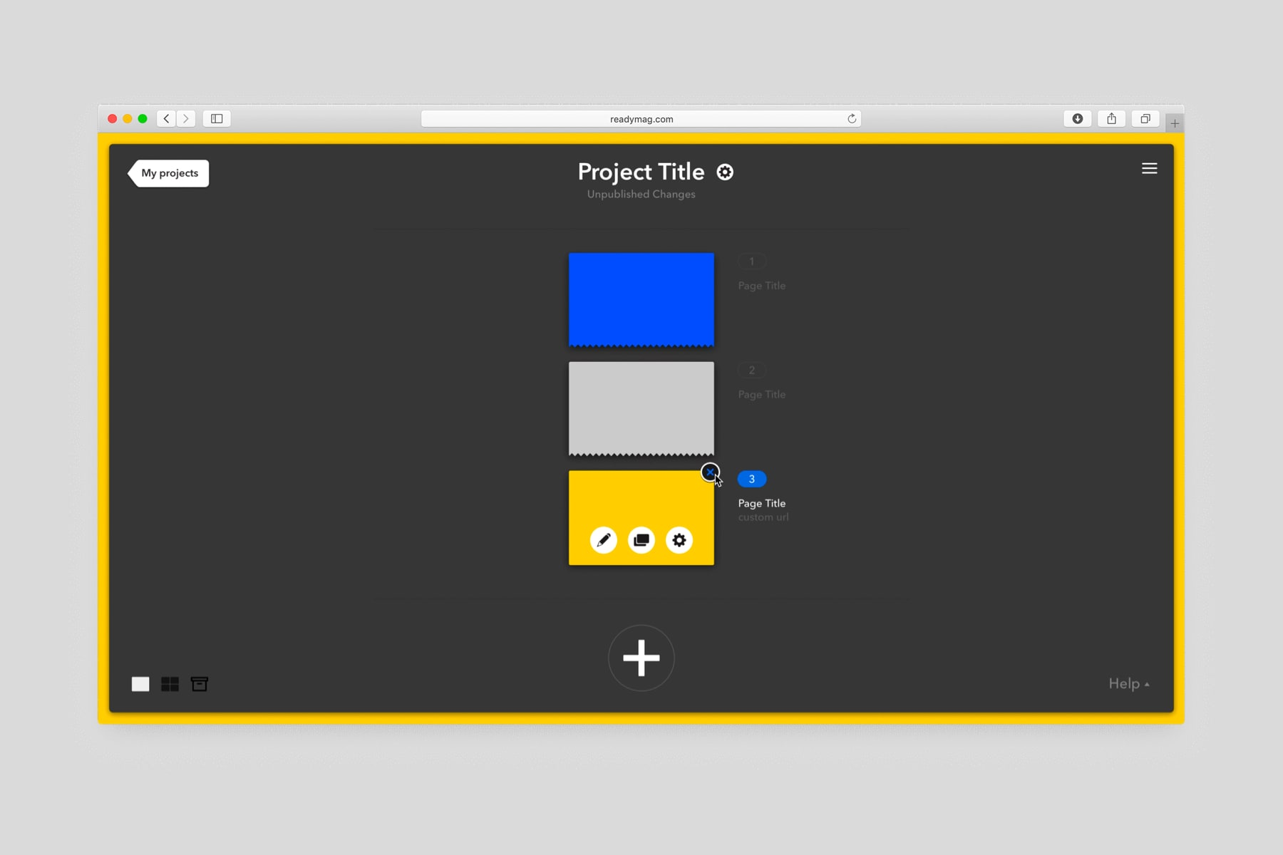 Web-tool for designing websites
