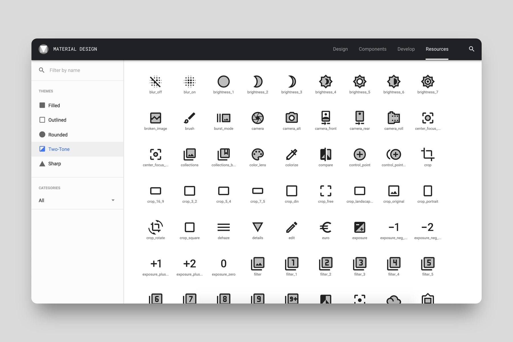 Free icons by Google
