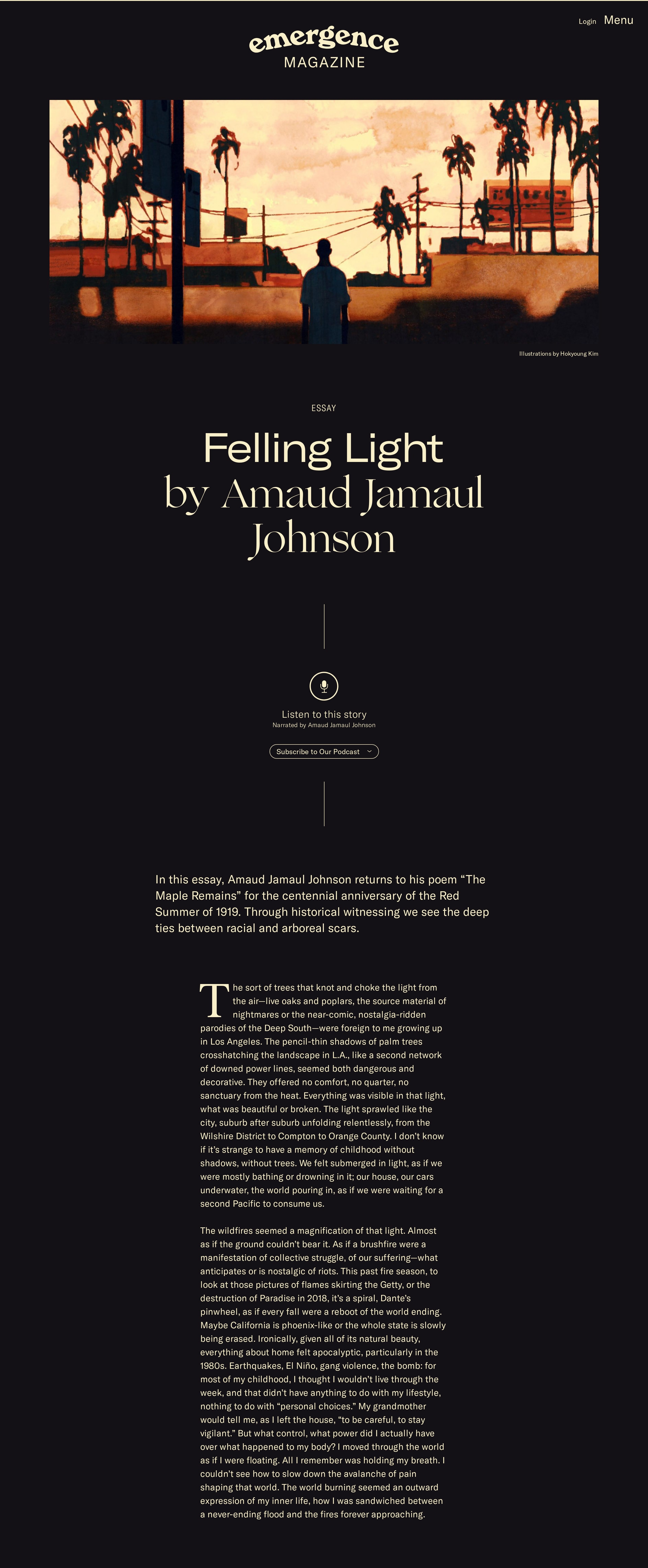 Blog Post Page with Beautiful Layout & Typography