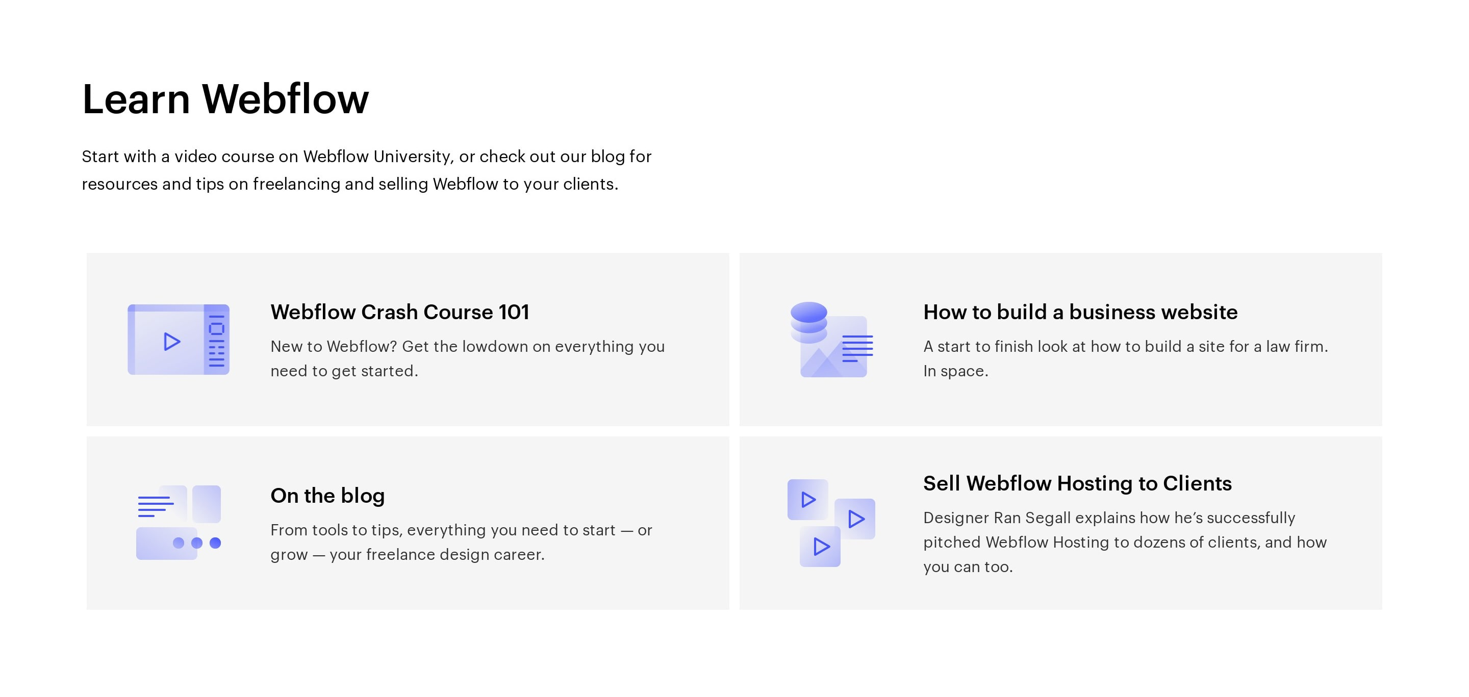 List of Resources to Learn How to Use Product